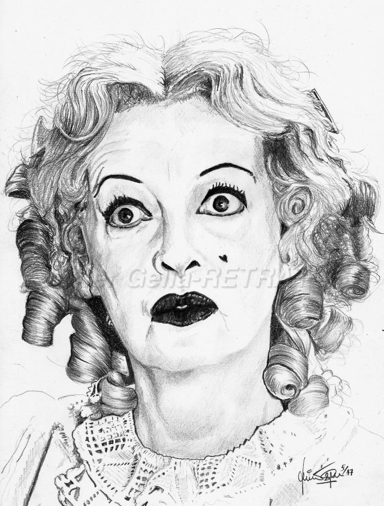 Bette Davis par JumpingJack